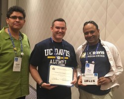 """Chris Bird and Prem Devanbu win """"10 Year Most Influential Paper Award"""" at the International Conference on Mining Software Repositories"""