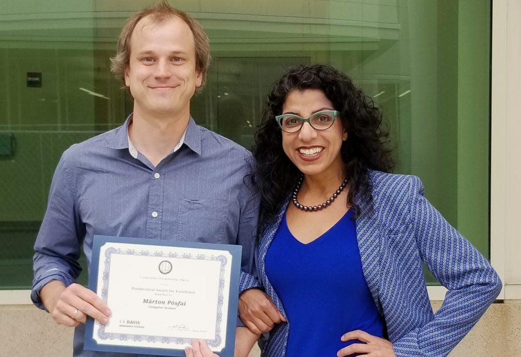 uc davis computer science postdoc research award 2019