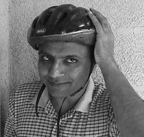 picture with bike helmet
